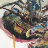 DY Lobster Print, 100cm x 70cm