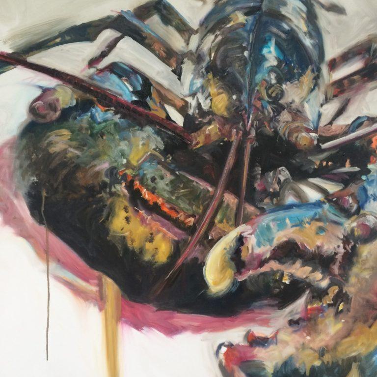 DY Lobster Print, 70cm x 50cm