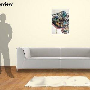 DY Lobster, 70cm x 50cm giclee print