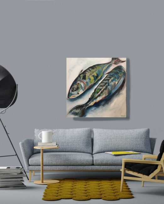 Two-mackerel-print-on-wall-1024x922