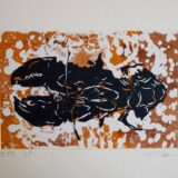 Lobster Lino Print, variable edition of 3