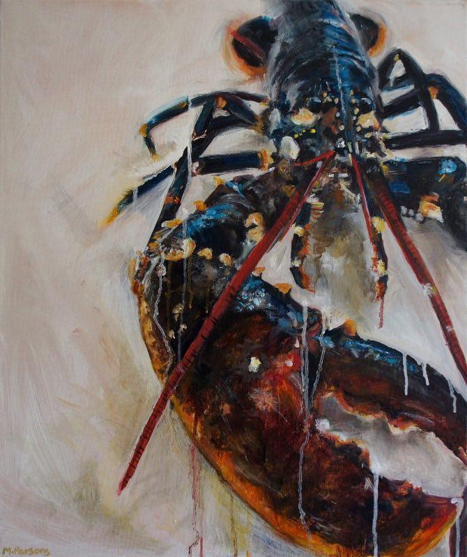 LR, oil on canvas
