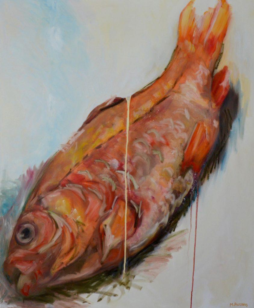 LGF, oil on canvas