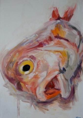 POYF, oil on canvas