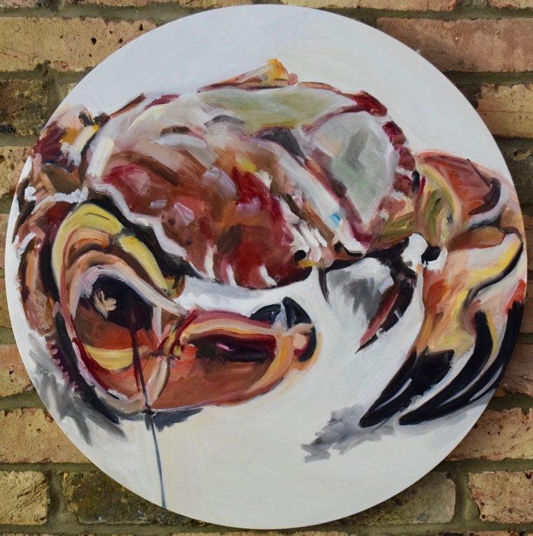 RCBD, oil on canvas