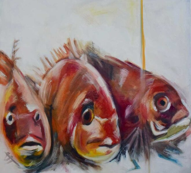 Three Japanese Fish