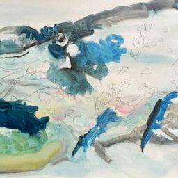 Lobster Long, 400 x 1200cm