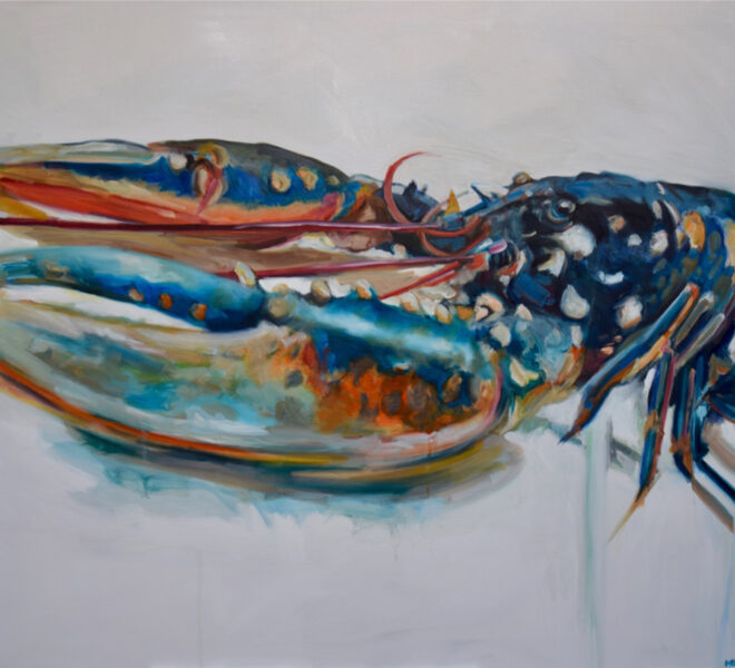 Long Lobster commission, 100 x 1200cm