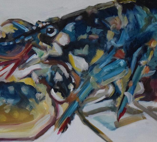 PL, 40 x 120cm oil on canvas