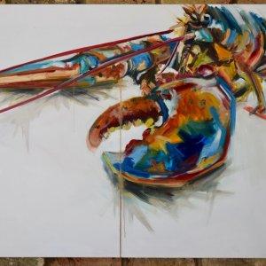 GL2, 80 x 100cm oil on canvas