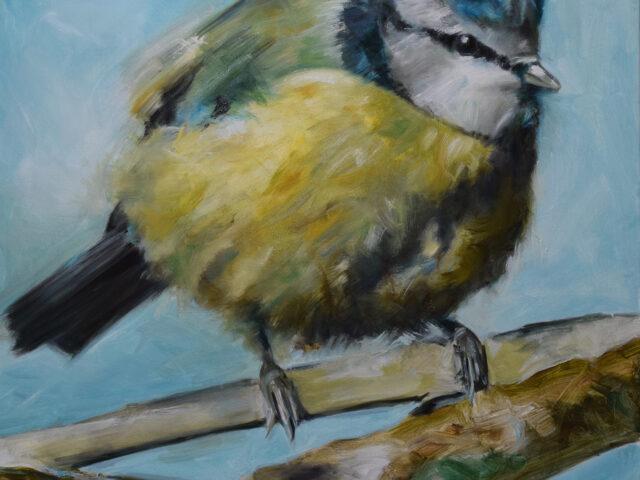 BT1 oil on canvas, 80 x 80cm