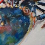 WBC oil on canvas, 80 x 100cm