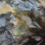 BB Bird Study oil on paper, 50cm x 65cm