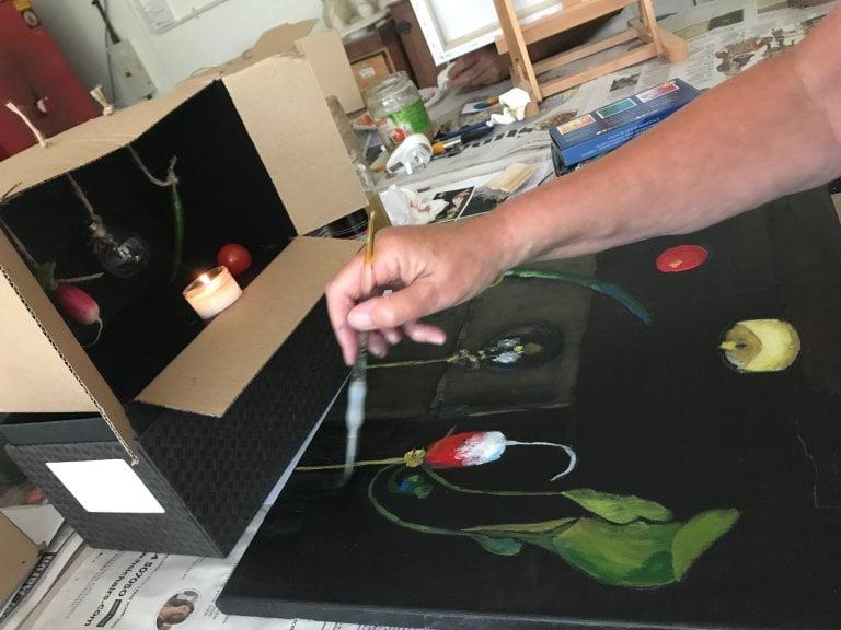 Art Workshop, Light and Dark