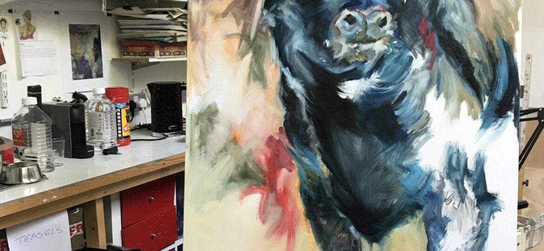 Bull commission in progress