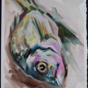 MFM3 on painting paper, 22 x 32cm