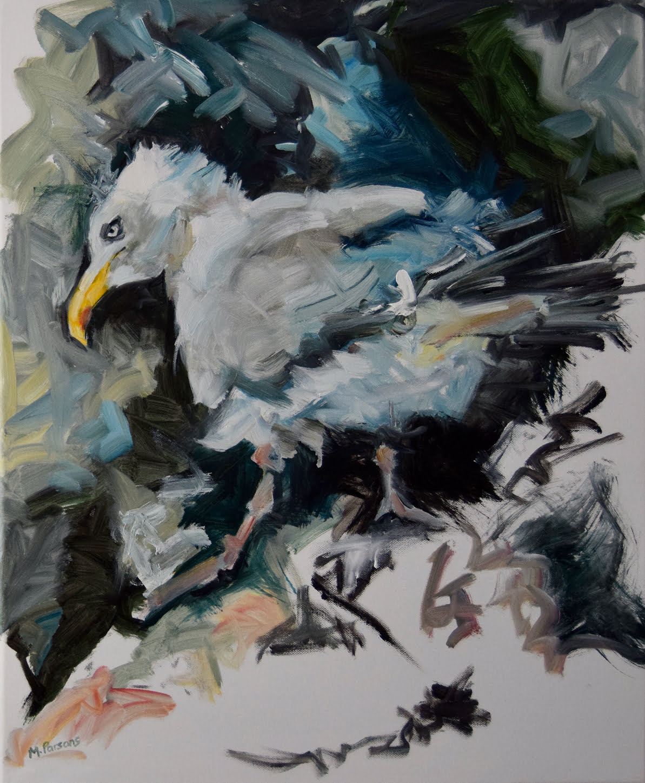 PGL oil on canvas, 50 x 60cm