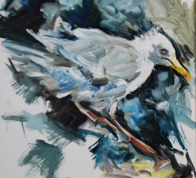 PGR oil on canvas, 50 x 60cm