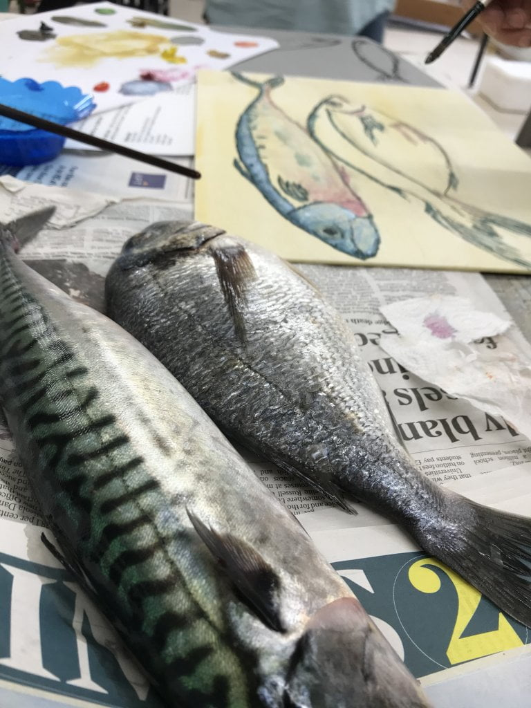 Painting Fish in Oils Workshop