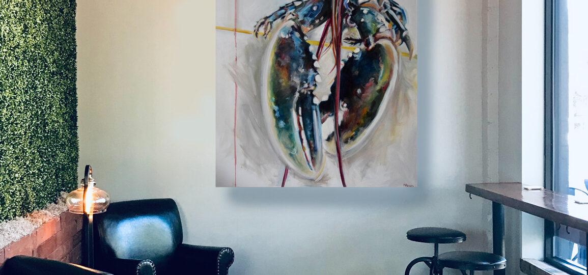 DBL oil on canvas, 100 x 120cm