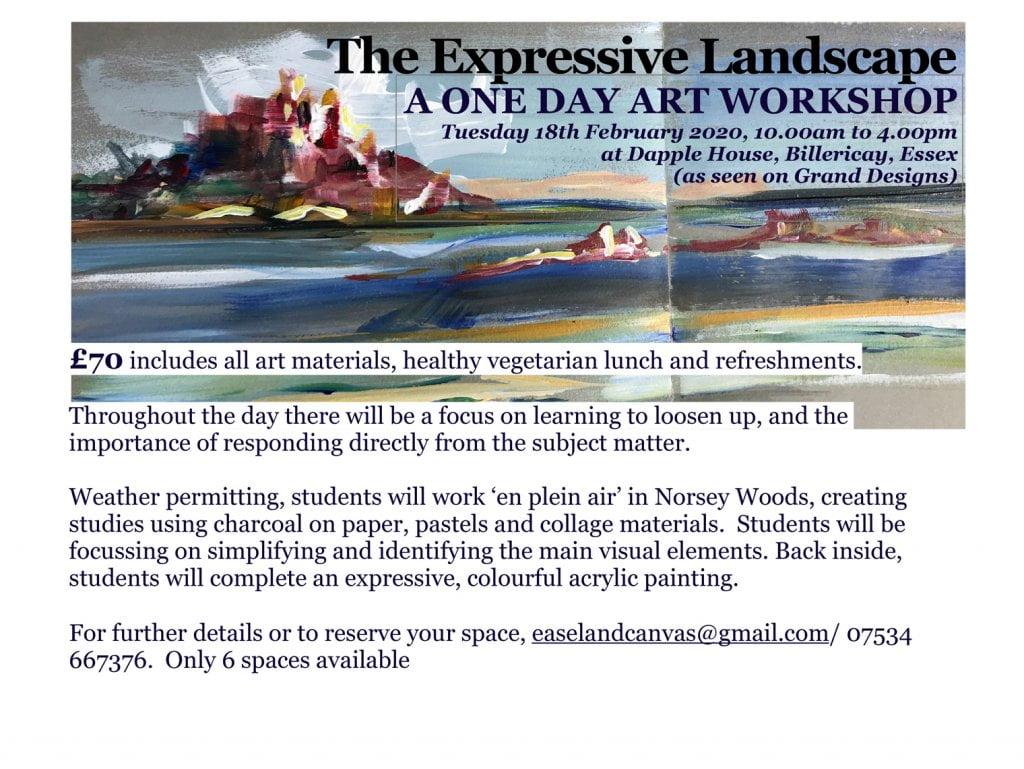 The Expressive Landscape Workshop