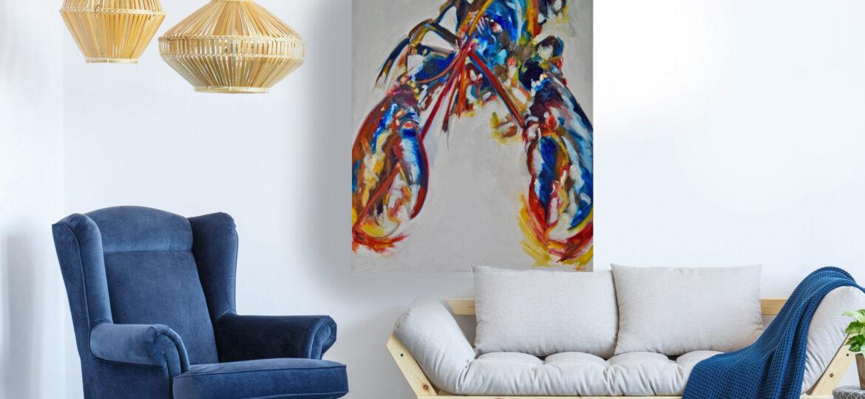 LLBC 80 x 100cm, oil on canvas