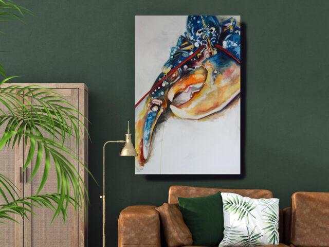 TLLL 102 x 153cm, oil on canvas