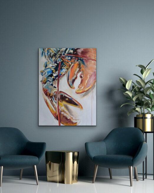 TLL 91 x 122cm, oil on canvas