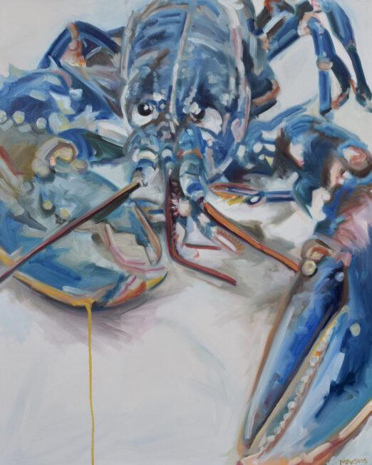 YDL 80 x 100cm, oil on canvas