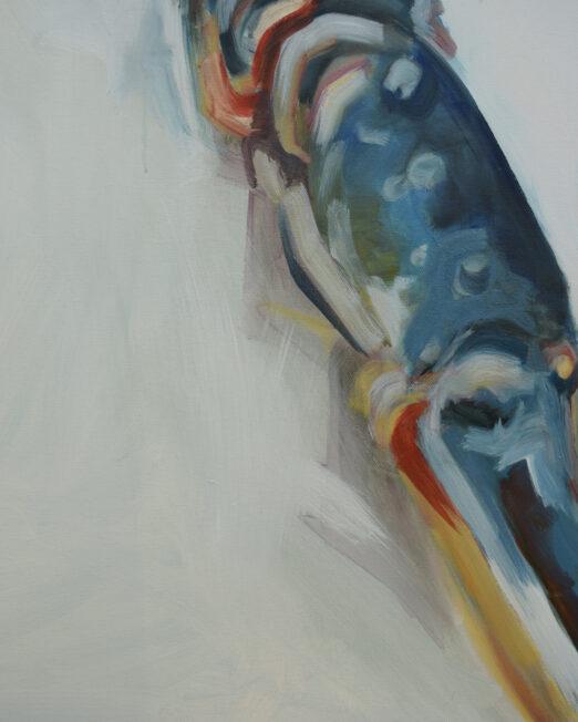 ODL 80 x 100cm, oil on canvas