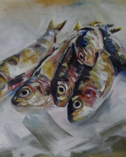 SF 61 x 76cm, oil on canvas