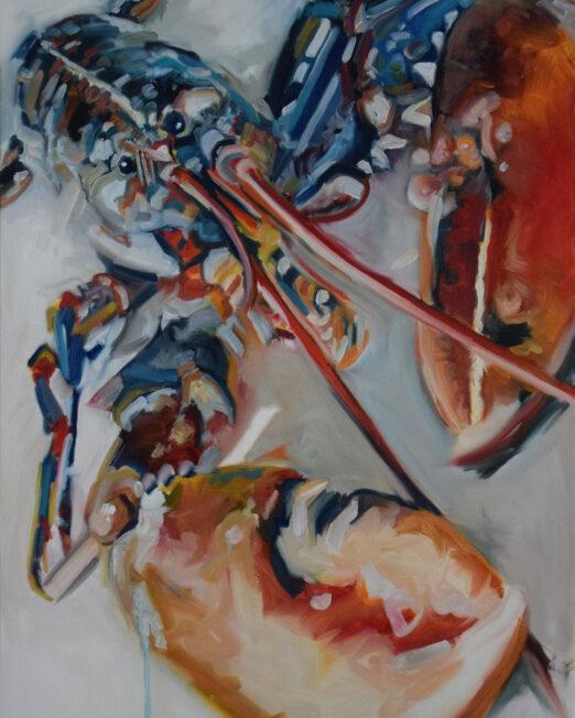 RBL 61 x 92cm, oil on canvas