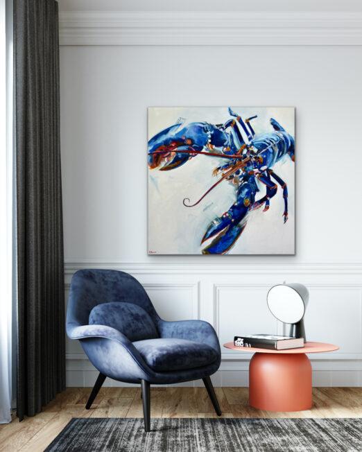 TBBL 100 x 100cm, oil on canvas