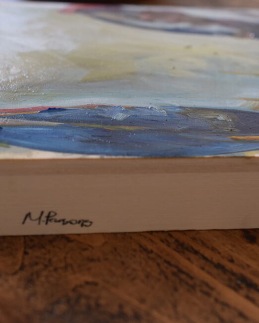 DBOW 30 x 40cm, oil on 4cm wood panel