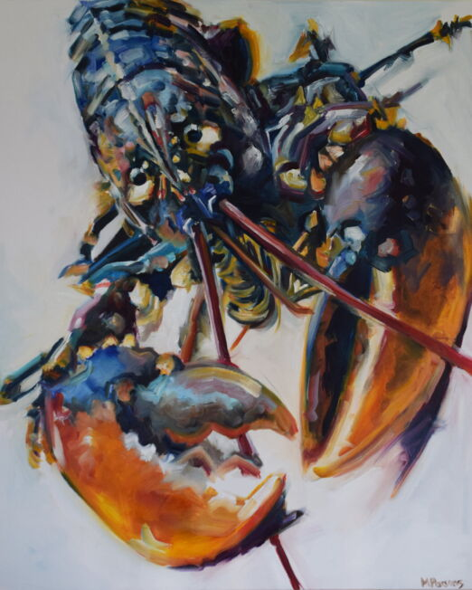 OBP 61 x 76cm, oil on canvas